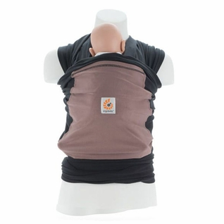 SOLD OUT Ergobaby Wrap Baby Carrier - Black/Taupe
