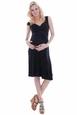 Everly Grey Alexandra Maternity Wrap Dress