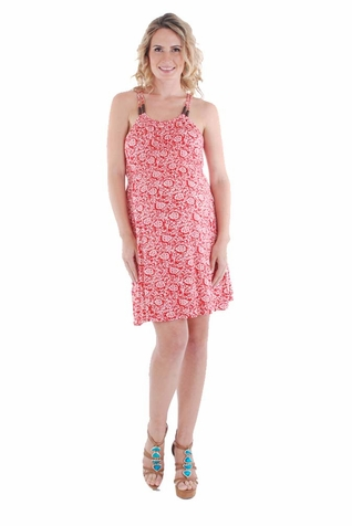 Everly Grey Aloha Maternity Sun Dress