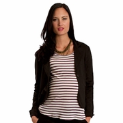 Everly Grey Clara Ponte Maternity Career Jacket