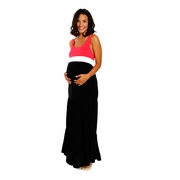 Everly Grey Ellis Maternity Tank Maxi Dress