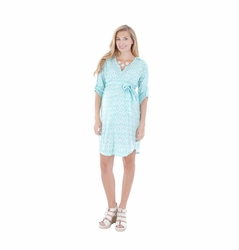 Everly Grey Hudson Maternity Shirt Dress
