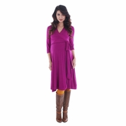 Everly Grey Kaitlyn Maternity Wrap Dress