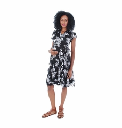 Everly Grey Kathy Maternity Nursing Wrap Dress