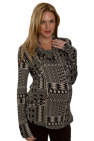 SOLD OUT Everly Grey Kelsey Geometric Print Tunic Top