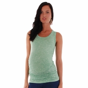 Everly Grey Maggie Ruched Maternity Tank Top