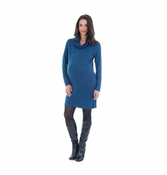 Everly Grey Marina Lightweight Maternity Sweater Dress