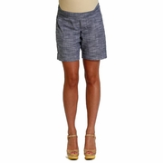 Everly Grey Miren Belly Panel Maternity Shorts