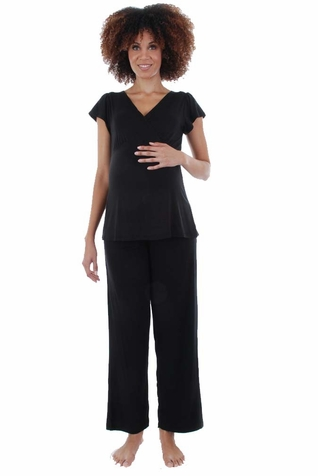 Everly Grey Serena Maternity Nursing Pajamas