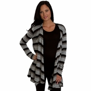 SOLD OUT Everly Grey Sherman Cardigan Sweater - Chicago Black