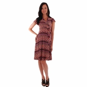Everly Grey Uma Maternity Wrap Dress