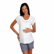 Everly Grey Violet Maternity Top