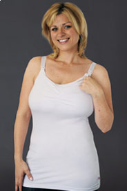 Glamourmom Full-Bust Long Nursing Tank