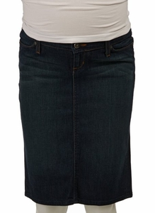 Habitual Prolific Maternity Denim Skirt - FINAL SALE