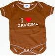 Haute Stuff I Heart Grandma Baby Bodysuit - FINAL SALE