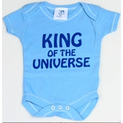 Haute Stuff King of the Universe Baby Bodysuit