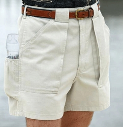Hook and Tackle Dad Bottle Shorts