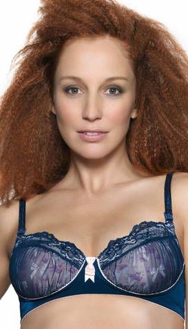 SOLD OUT Hot Milk Her Midnight Charm Was Striking Nursing Bra