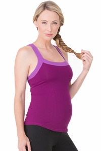 Ingrid And Isabel Active Maternity Racerback Tank