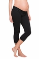 Ingrid And Isabel Maternity Active Fitness Pant With Crossover Panel - Capri