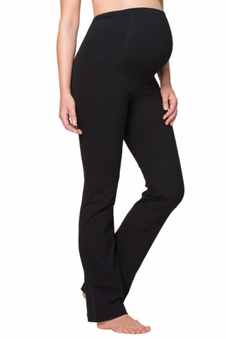 Ingrid & Isabel Maternity Active Fitness Pant With Crossover Panel  - Long