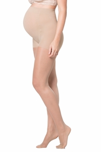 Ingrid And Isabel Sheer Maternity Pantyhose With Reinforced Toe