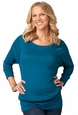 Ingrid & Isabel Banded Raglan Maternity Top