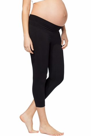 TEMPORARILY OUT OF STOCK Ingrid & Isabel Capri Maternity Belly Leggings