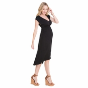 Ingrid & Isabel Empire High-Low Maternity Dress