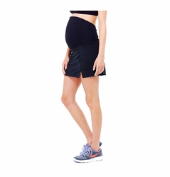 TEMPORARILY OUT OF STOCK Ingrid & Isabel Maternity Active Fitness Skirt With Crossover Panel