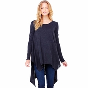 Ingrid & Isabel Maternity Handkerchief Tunic