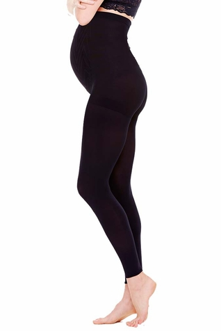 SOLD OUT Ingrid & Isabel Maternity Opaque Full Belly  Footless Tights