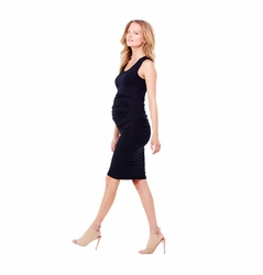 Ingrid & Isabel Pleated Tank Maternity Dress