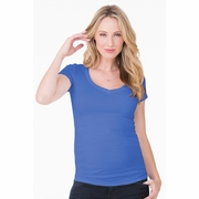 Ingrid & Isabel Short Sleeve V-Neck Maternity Tee