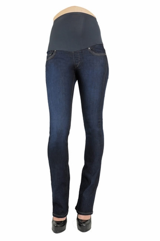 SOLD OUT James Jeans Reboot External Skinny Boot Leg Premium Maternity Jeans - Jay Blue
