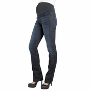 James Jeans Tom External Straight Leg Maternity Jeans - Crystal