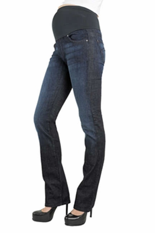 SOLD OUT James Jeans Tom External Straight Leg Maternity Jeans - Crystal