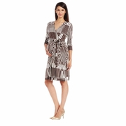Japanese Weekend Best Maternity Nursing Wrap Dress