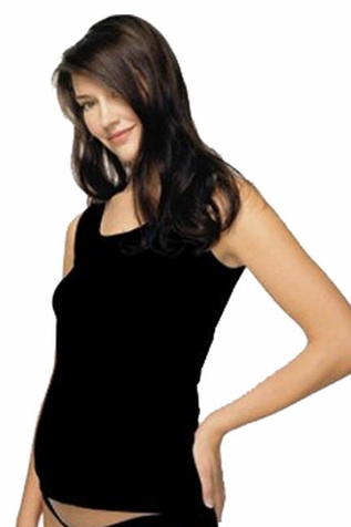 SOLD OUT Japanese Weekend Cotton Baby Rib Maternity Tank with Built In Bra