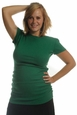 Japanese Weekend Cotton Boatneck Side Shirred Maternity Top