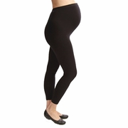 Japanese Weekend Cotton Overbelly Maternity Leggings