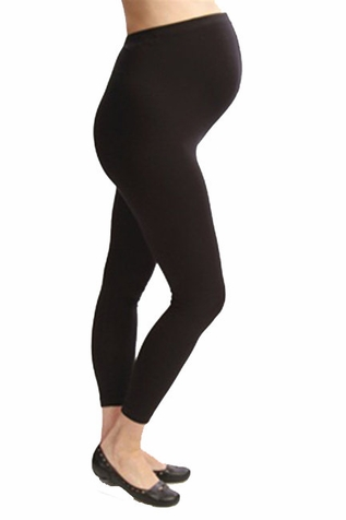 SOLD OUT Japanese Weekend Cotton Overbelly Maternity Leggings