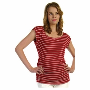 Japanese Weekend d&a Drape Back Maternity And Nursing Top