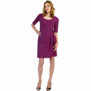 Japanese Weekend d&a Luxe Adjustable Side Tie Maternity Dress