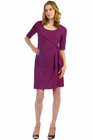 SOLD OUT Japanese Weekend d&a Luxe Adjustable Side Tie Maternity Dress
