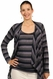 SOLD OUT Japanese Weekend d&a Maternity And Nursing Top With Jacket - Stripes