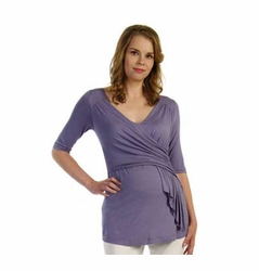 Japanese Weekend d&a Scarf Wrap Maternity And Nursing Top