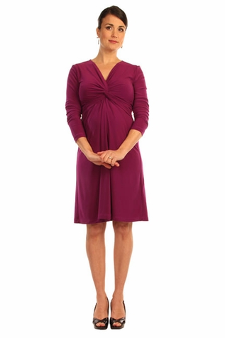 Japanese Weekend d&a Twisty Maternity And Nursing Dress