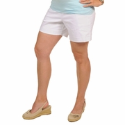 Japanese Weekend Denim Maternity Shorts