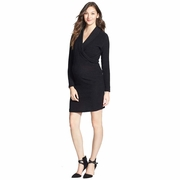 Japanese Weekend Job Promo Maternity Nursing Sweater Dress